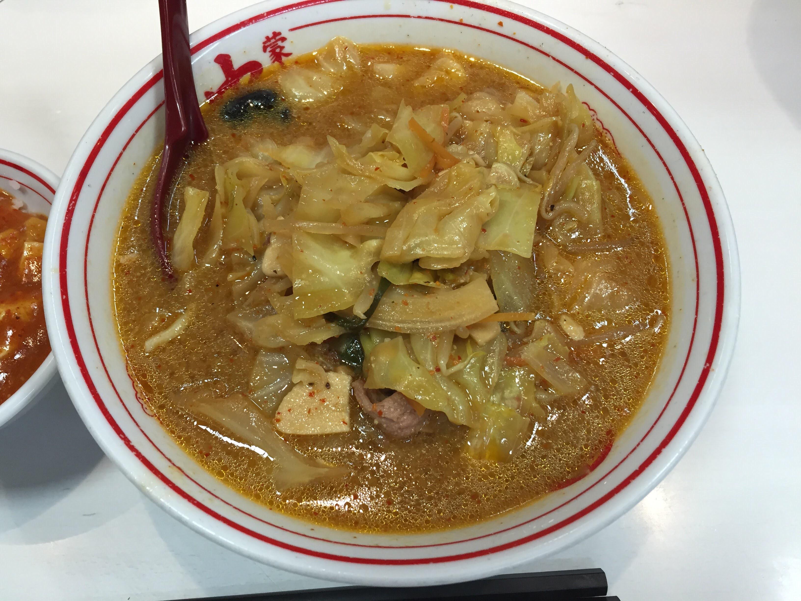 唐辛子マークをきちんと数えて注文しよう!「蒙古タンメン中本」は病みつきになる辛ウマさ。タオルハンカチは必須です!