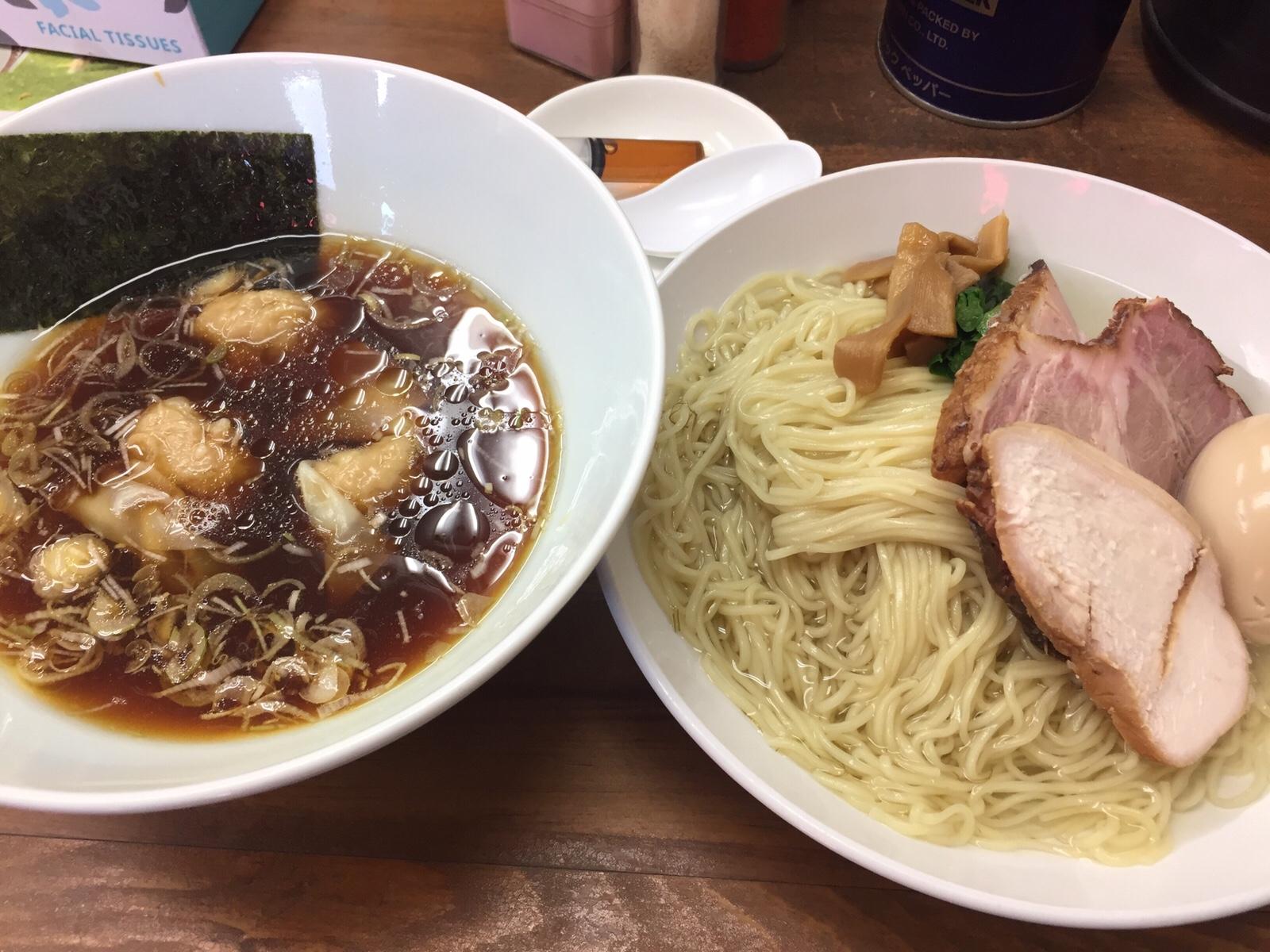 """東神奈川""""ラーメン夢""""再訪 とろり冷やウマ特製つけ麺!"""