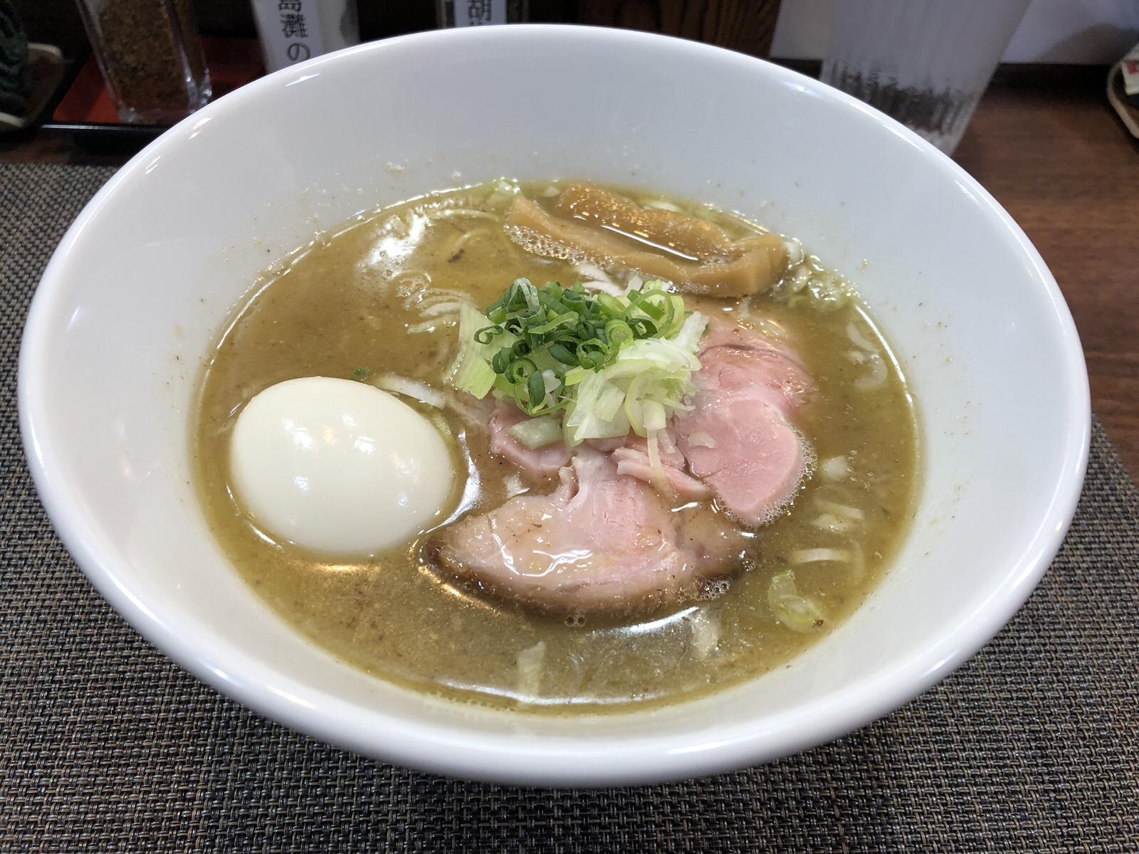 こだわり詰まった旨塩ラーメン!目黒 「only one noodle壱富士」