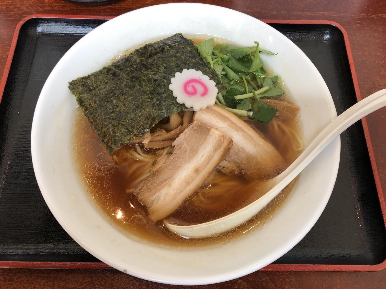 横浜みなとみらい「麺屋 甍」ほっこりあっさり煮干し中華そば