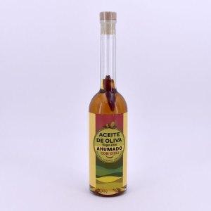 aceite ahumado con chili - Aceite de Oliva Virgen Extra ahumado con Chile (Chili)