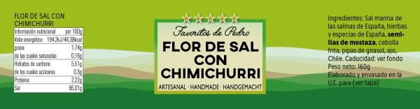 flor de sal con chimichurri - Flor de Sal con Chimichurri