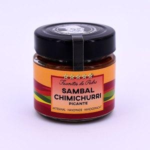 sambal chimichurri picante - Sambal Chimichurri