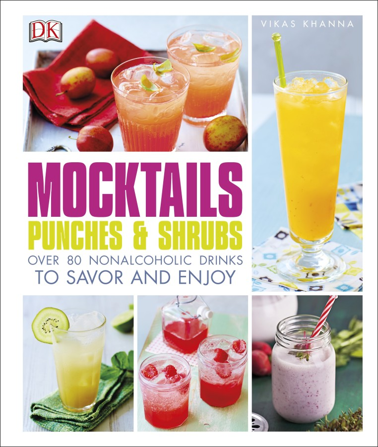 Mocktails, Punches and Shrubs Book Review - DK Canada
