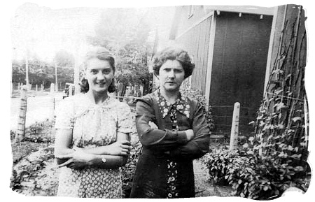 Eileen Hunt and Harriet Ellen Hunt
