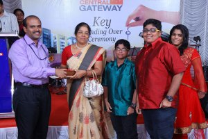 Central Gateway Key Handing Over Ceremony