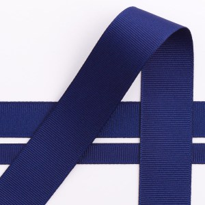 Navy Grosgrain Ribbon