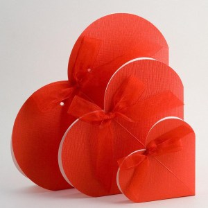 Red Favour Boxes