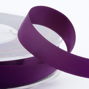 Aubergine Satin Ribbon