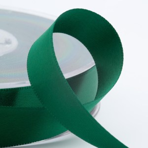 Bottle Green Satin Ribbon