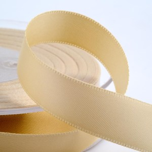 Cream Satin Ribbon