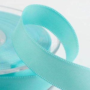 Duck Egg Blue Satin Ribbon