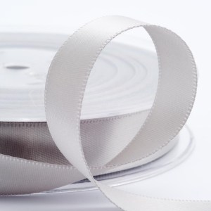 Silver Satin Ribbon