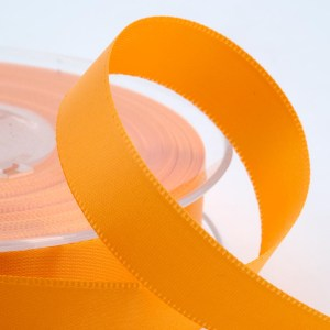 Yellow Gold Satin Ribbon