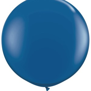 1 Metre Navy Blue Giant Balloons