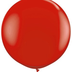 1 Metre Red Giant Balloons