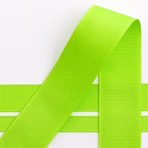 10mm Lime Grosgrain Ribbon 10M