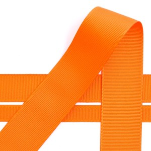 10mm Orange Grosgrain Ribbon 10M