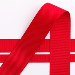 10mm Red Grosgrain Ribbon 10m