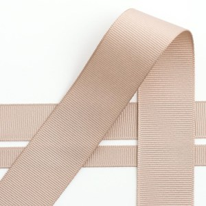 10mm Taupe Grosgrain Ribbon 10M
