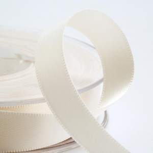 3mm Ivory Satin Ribbon 50M