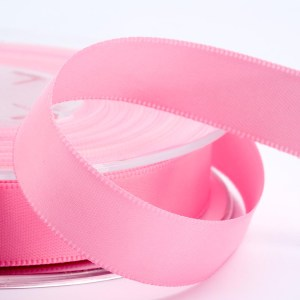 3mm Pink Satin Ribbon 50M