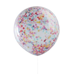 36inch Colourful Confetti Balloons