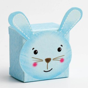 Blue Rabbit Favour Box - Small