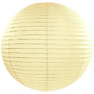 Cream Paper Lanterns 18inch
