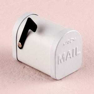 Mini Vintage Mail Favour Boxes x 6