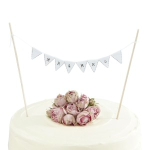 Mr and Mrs Cake Bunting