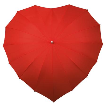 Heart Umbrellas - Red