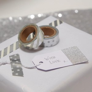 Silver Foiled Washi Tape
