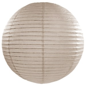 Warm Grey Paper Lanterns 18inch