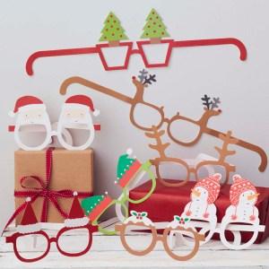 Festive Christmas Funglasses