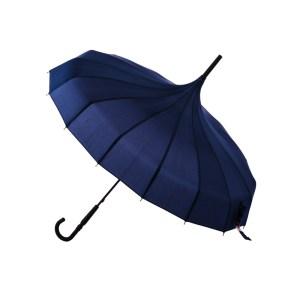 Navy Pagoda Umbrella