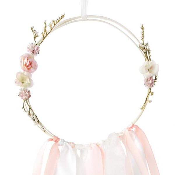 White And Pink Dream Catcher Kit