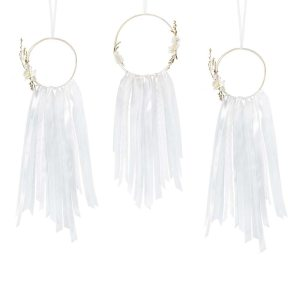 White Dream Catcher Kit