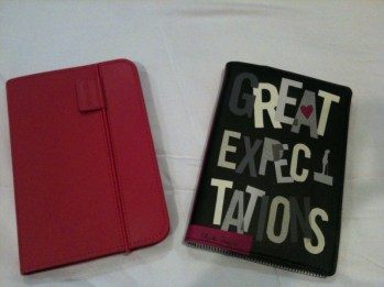 My Kindle covers side-by-side.