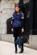 Belted Puffer Vest - Rachel Fawkes San Francisco Fashion Stylist