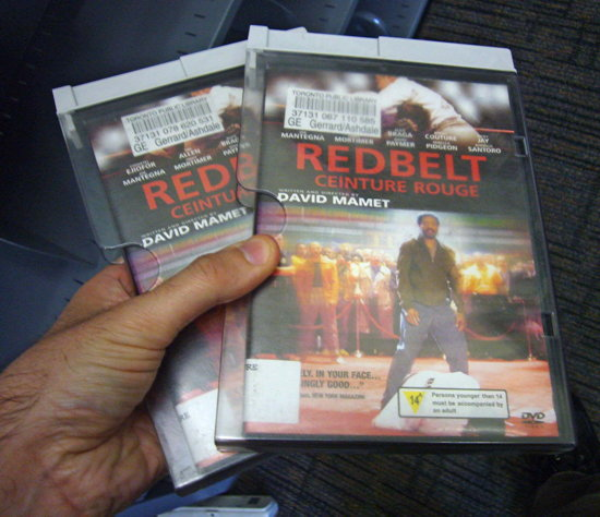 Two copies of 'Redbelt' from Gerrard/Ashdale