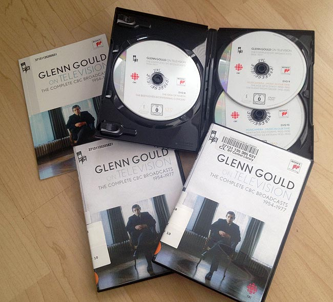 'Glenn Gould on Television: The Complete CBC Broadcasts 1954–1977'