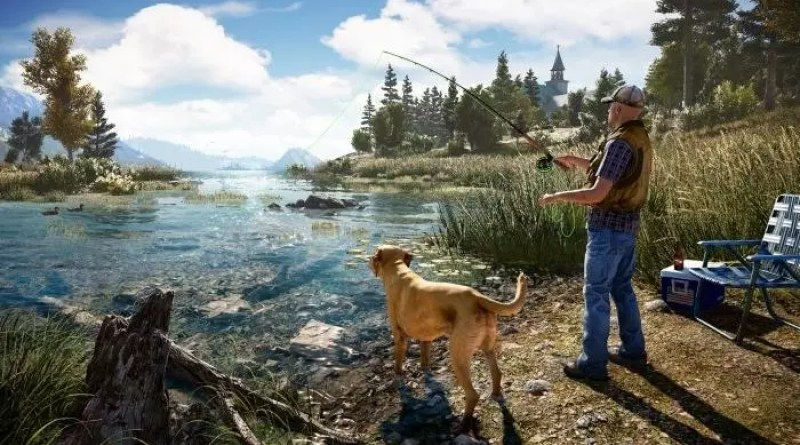 PETA wants to forbid Far Cry 5, because you can go fishing