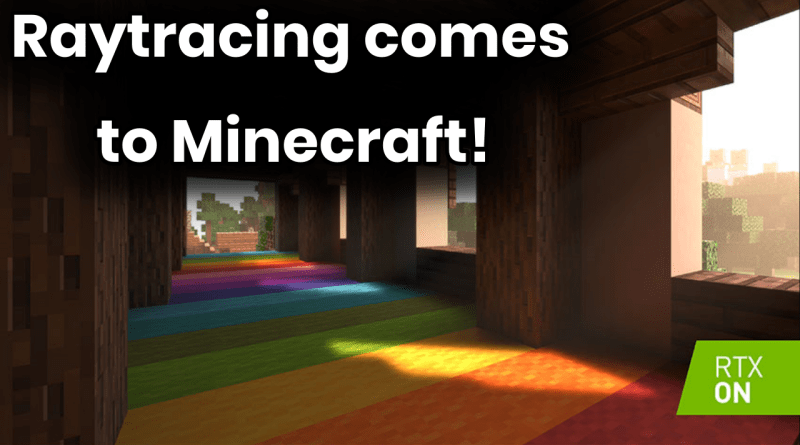 Minecraft Gets Raytracing – Never Been So Beautiful