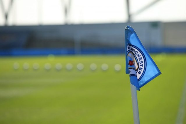 Manchester City striker signs first professional terms