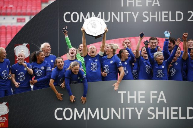 PLAYER REACTIONS: Chelsea players react to FA Women's Community Shield success