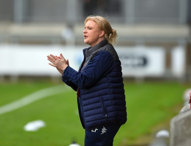 'I can't ask any more from my players' says London City Lionesses head coach Fallon