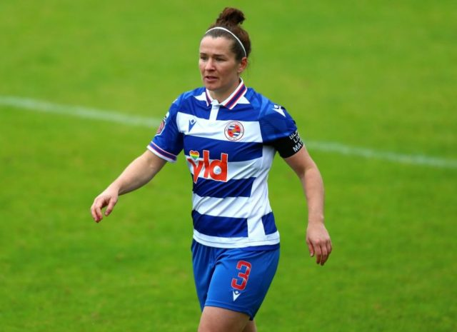 Reading face nervous wait to learn the extent of injury to full-back