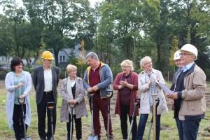 Gesamtschule Petershagen_Vorfreude auf den Neubau_Spatenstich September 2017_1