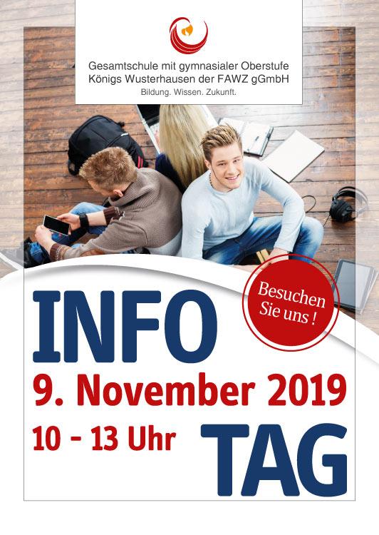 Gesamtschule Königs Wusterhausen_Infotag am 9. November 2019